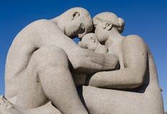 Οικογένεια Vigeland Στοκ εικόνες με δικαίωμα ελεύθερης χρήσης