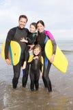 Οικογένεια Watersports στοκ εικόνα