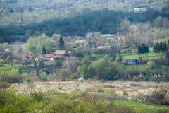 Οικογένειες στο ουκρανικό χωριό στοκ φωτογραφία με δικαίωμα ελεύθερης χρήσης