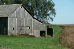 Οικογενειακά αγροκτήματα Midwest στοκ εικόνες