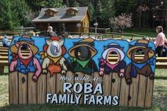 Οικογενειακά αγροκτήματα Roba στο δήμο βόρειου Abington στην Πενσυλβανία Στοκ Εικόνες