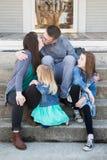 Οικογενειακά πορτρέτα στοκ φωτογραφία με δικαίωμα ελεύθερης χρήσης