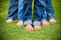 Οικογενειακά πόδια Στοκ φωτογραφία με δικαίωμα ελεύθερης χρήσης