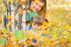 οικογενειακές δασικέ&sigm στοκ φωτογραφία με δικαίωμα ελεύθερης χρήσης