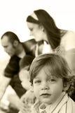 οικογενειακές νεολαίες Στοκ Εικόνες
