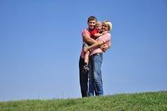 οικογενειακές νεολαί&e στοκ φωτογραφίες