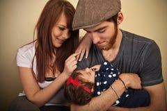 οικογενειακές νεολαί&e Στοκ φωτογραφίες με δικαίωμα ελεύθερης χρήσης