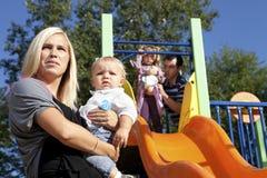 οικογενειακές νεολαί&e Στοκ Φωτογραφία