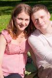οικογενειακές περιμέν&omicro Στοκ φωτογραφία με δικαίωμα ελεύθερης χρήσης