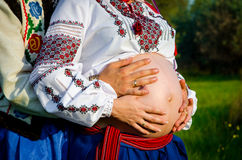 οικογενειακές περιμέν&omicro στοκ εικόνα με δικαίωμα ελεύθερης χρήσης