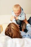 οικογενειακές στιγμές Στοκ φωτογραφία με δικαίωμα ελεύθερης χρήσης