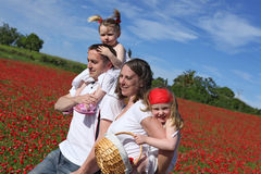 οικογενειακές υγιείς Στοκ φωτογραφία με δικαίωμα ελεύθερης χρήσης