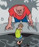 οικογενειακή βία ελεύθερη απεικόνιση δικαιώματος