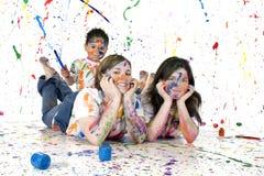 οικογενειακή διασκέδαση Στοκ εικόνα με δικαίωμα ελεύθερης χρήσης