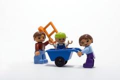 οικογενειακή εργασία Στοκ Φωτογραφία