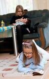 οικογενειακή ζωή Στοκ εικόνες με δικαίωμα ελεύθερης χρήσης