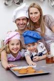 οικογενειακή κουζίνα μ Στοκ εικόνα με δικαίωμα ελεύθερης χρήσης