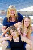 οικογενειακή ομάδα Στοκ Φωτογραφία
