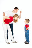 οικογενειακή σχέση Στοκ φωτογραφίες με δικαίωμα ελεύθερης χρήσης