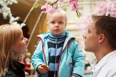 οικογενειακοί άνθρωπο& Στοκ εικόνες με δικαίωμα ελεύθερης χρήσης