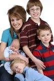 οικογενειακοί δεσμοί Στοκ Εικόνες
