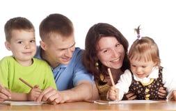 οικογενειακός πίνακας & Στοκ Εικόνες