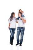 οικογενειακός περίπατος Στοκ εικόνες με δικαίωμα ελεύθερης χρήσης