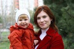 οικογενειακός περίπατ&omic Στοκ Εικόνες