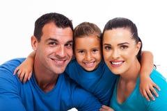 Οικογενειακός στενός επάνω Στοκ εικόνα με δικαίωμα ελεύθερης χρήσης