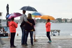 Οικογενειακός συνδέοντας χρόνος Στοκ Φωτογραφία