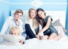 Οικογενειακός χρόνος Στοκ Εικόνα