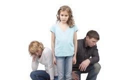 οικογενειακός χωρισμός Στοκ φωτογραφία με δικαίωμα ελεύθερης χρήσης
