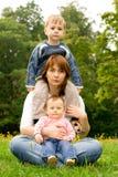 οικογενειακό δέντρο Στοκ Φωτογραφίες