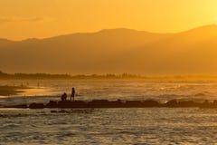 Οικογενειακό ηλιοβασίλεμα Στοκ φωτογραφίες με δικαίωμα ελεύθερης χρήσης