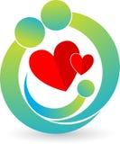 οικογενειακό λογότυπο Στοκ φωτογραφία με δικαίωμα ελεύθερης χρήσης