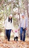 οικογενειακό πάρκο Στοκ φωτογραφία με δικαίωμα ελεύθερης χρήσης