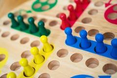 Οικογενειακό παιχνίδι πινάκων του Ludo Στοκ εικόνα με δικαίωμα ελεύθερης χρήσης