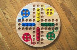 Οικογενειακό παιχνίδι πινάκων του Ludo Στοκ φωτογραφίες με δικαίωμα ελεύθερης χρήσης