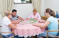 Οικογενειακό παιχνίδι Στοκ Φωτογραφίες