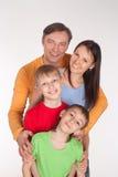 οικογενειακό πορτρέτο &the Στοκ φωτογραφία με δικαίωμα ελεύθερης χρήσης