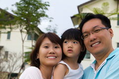 οικογενειακό πορτρέτο Στοκ Φωτογραφία