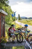 Οικογενειακό στη Σουηδία στοκ φωτογραφία με δικαίωμα ελεύθερης χρήσης