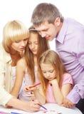 Οικογενειακό σχέδιο της Νίκαιας στοκ εικόνες με δικαίωμα ελεύθερης χρήσης