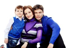 οικογενειακό χαμόγελ&omicro Στοκ Φωτογραφίες