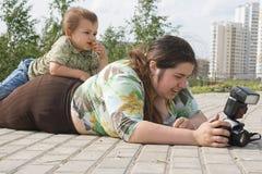 οικογενειακό χόμπι Στοκ φωτογραφίες με δικαίωμα ελεύθερης χρήσης