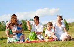 οικογενειακό picnic στοκ φωτογραφίες