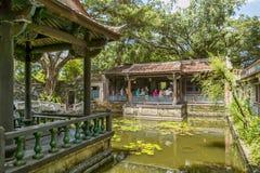 Οικογενειακών μεγάρων και κήπων Ben-Yuan Lin άποψη θέας, άποψη θέας λιμνών της Lili Στοκ εικόνα με δικαίωμα ελεύθερης χρήσης