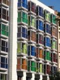 οικοδόμηση ζωηρόχρωμη Στοκ εικόνες με δικαίωμα ελεύθερης χρήσης
