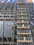 Οικοδόμηση κάτω από την κατασκευή Στοκ Φωτογραφία