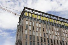 οικοδόμηση κτηρίου κάτω Στοκ Εικόνες